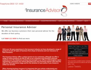 theinsuranceadvisor.co.uk screenshot