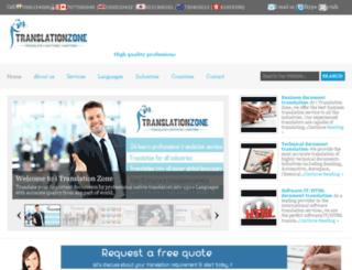 theinternationaltranslation.com screenshot