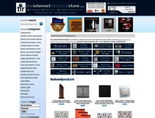 theinternetelectricalstore.com screenshot