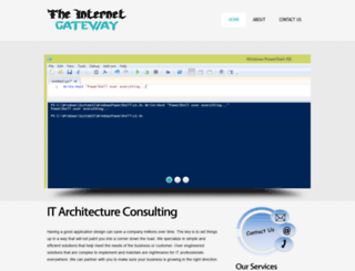 theinternetgateway.com screenshot