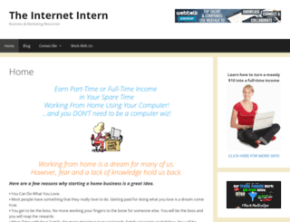 theinternetintern.com screenshot