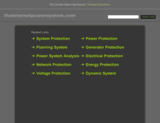 theinternetpowersystem.com screenshot