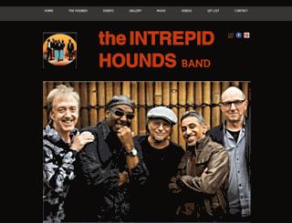 theintrepidhounds.com screenshot