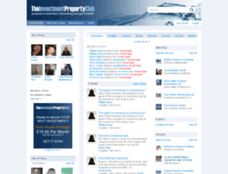 theinvestmentpropertyclub.co.uk screenshot