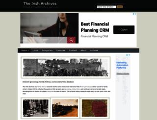 theirisharchives.com screenshot