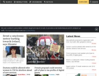 theirishtimes.com screenshot