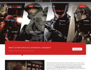 theironmansuit.com screenshot