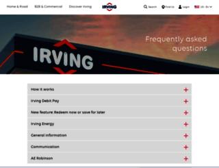 theirving.com screenshot