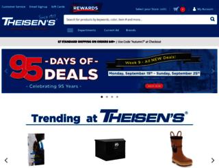 theisens.com screenshot