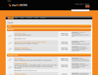 theisonews.com screenshot