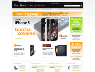 theistore.com screenshot