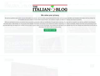 theitalianblog.it screenshot
