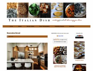 theitaliandishblog.com screenshot