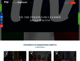theitalianvoice.it screenshot