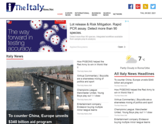 theitalynews.net screenshot