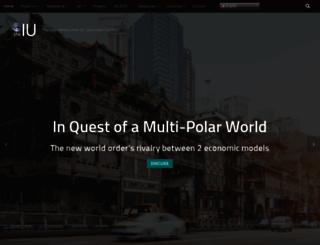 theiu.org screenshot