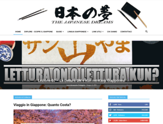 thejapanesedreams.com screenshot