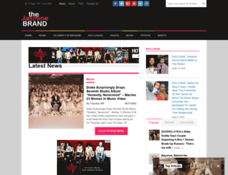 thejasminebrand.com screenshot
