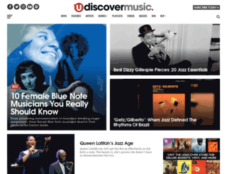 thejazzlabels.com screenshot