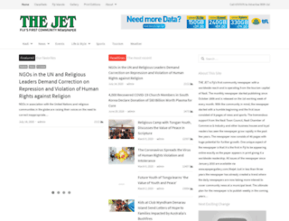thejetnewspaper.com screenshot