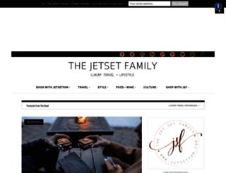 thejetsetfamily.com screenshot