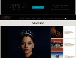 thejewelleryeditor.com screenshot
