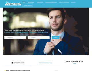 thejobportal.in screenshot