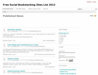 thejobsbookmarking.info screenshot