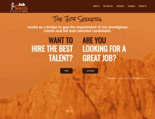 thejobseekers.co.in screenshot