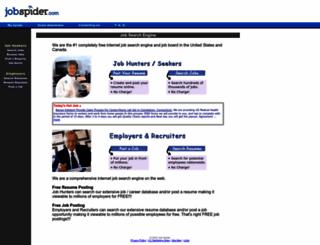 thejobspider.com screenshot