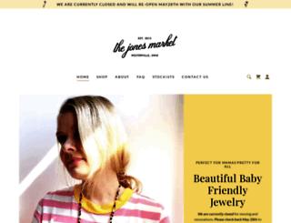 thejonesmarket.com screenshot