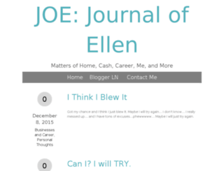 thejournalofellen.com screenshot