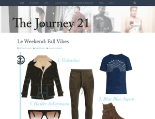 thejourney21.wordpress.com screenshot
