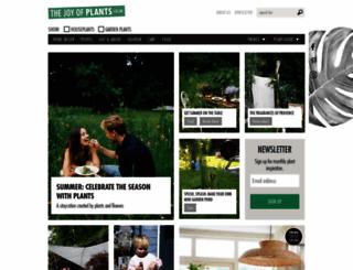 thejoyofplants.co.uk screenshot
