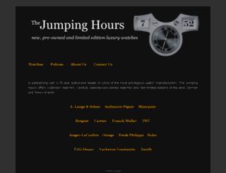 thejumpinghours.com screenshot