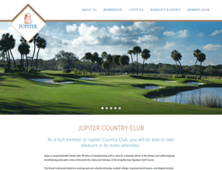 thejupitercountryclub.com screenshot