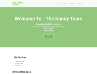 thekandytours.weebly.com screenshot