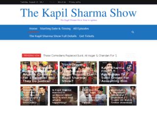 thekapilsharmashow.in screenshot