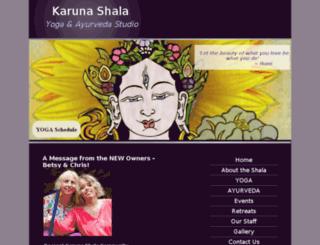 thekarunashala.org screenshot