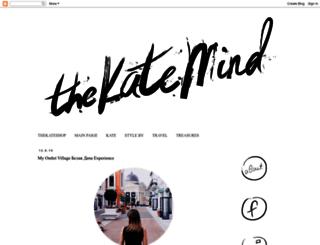 thekatemind.blogspot.com screenshot