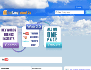 thekeyresults.org screenshot