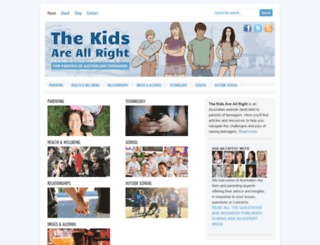 thekidsareallright.com.au screenshot