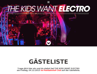 thekidswantelectro.de screenshot