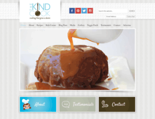thekindcook.com screenshot