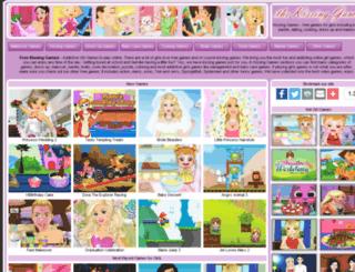 thekissinggames.com screenshot