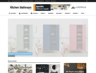 thekitchenandbathroomblog.com.au screenshot