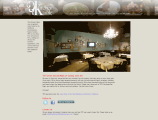 thekitchentablerestaurant.com screenshot