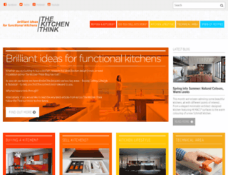 thekitchenthink.co.uk screenshot