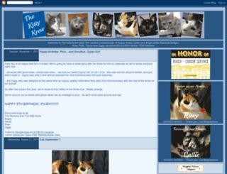 thekittykrew.blogspot.com screenshot