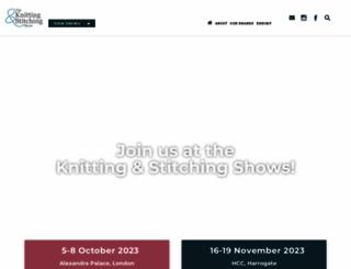 theknittingandstitchingshow.com screenshot